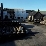 Distillery in the sun