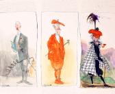 Ralph Steadman's Whisky Tax Men
